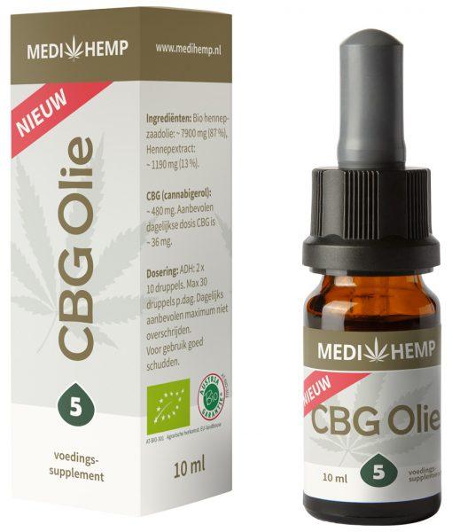 Medihemp-CBG-olie